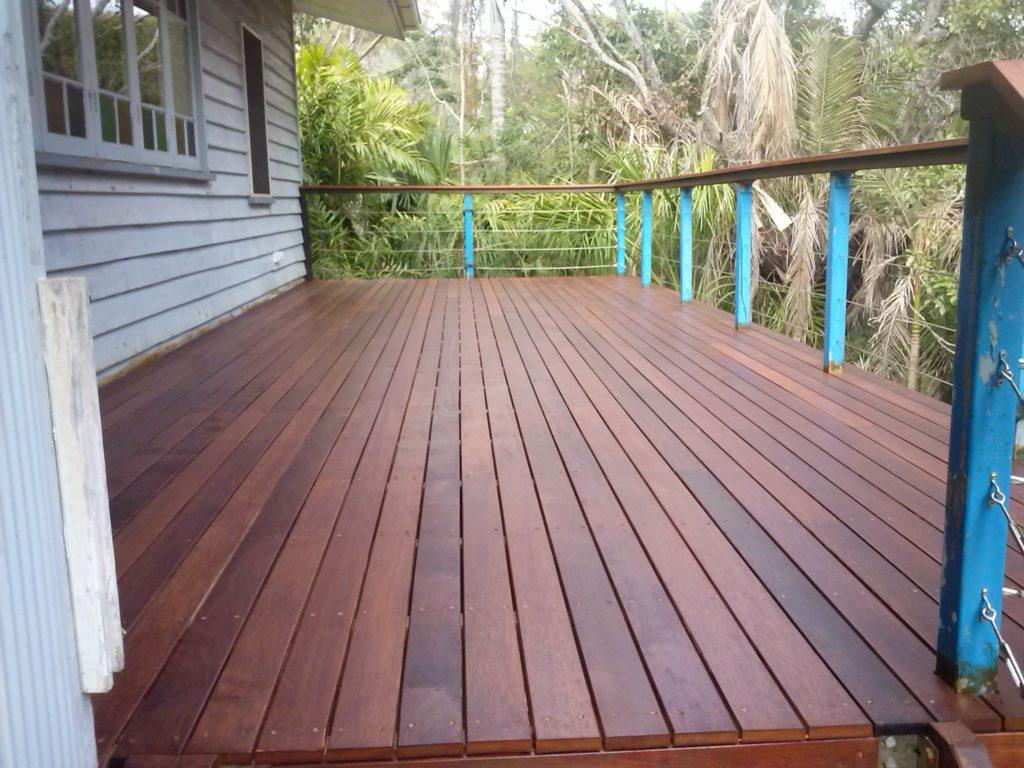 herveybaymaintenance hardwood deck gallery